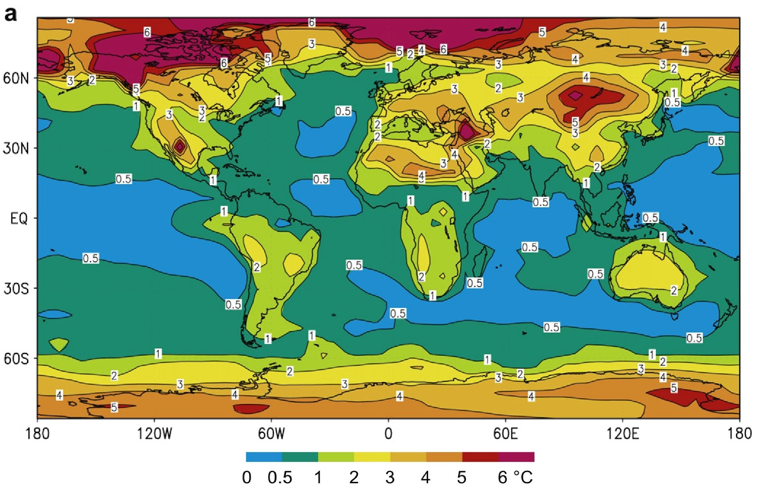 Global characterization of the Holocene Thermal Maximum-Renssen et al-2012-Fig 3A.-compressed